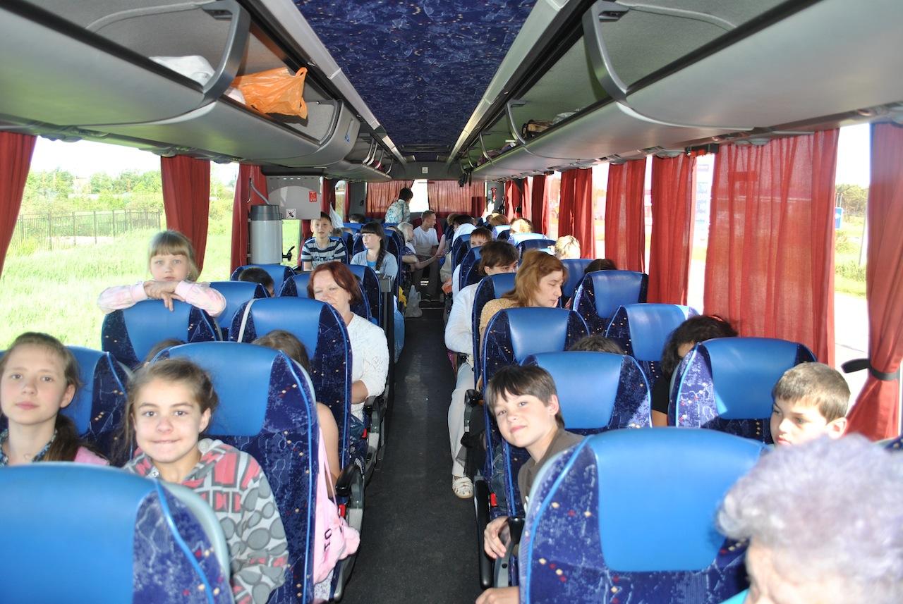 паломническая поездка детей учащихся в максатихинской Воскресной школе в Сергиев Посад
